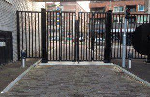 toegangscontrole via kentekenherkenning met meldzuil en betaald parkeren