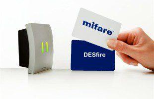 Mifare Toegangscontrole middels meldzuil met intercom