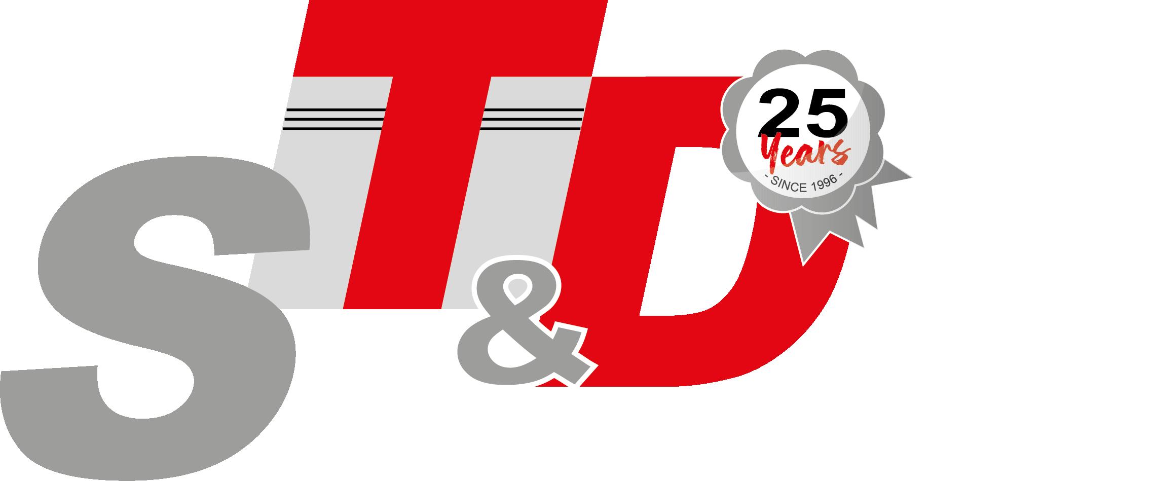 LOGO ST&D 25 jaar